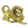 Auspicious Feng Shui Brass Pi Yao