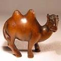 Boxwood Netsuke Camel