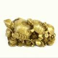 Brass Fuk Luk Sau Tortoises