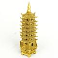 Brass Seven Levels Feng Shui Pagoda