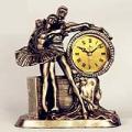 Dancers Resin Tabletop Clock