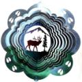 Elk 3D Wind Spinner