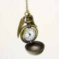Globe Shape with Wings Pocket Watch