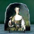 Madame Sophie de France as a Vestal Virgin by Jean Marc Nattier Oil Painting Reproduction on Marble Slab