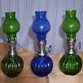 Oil Lamps 3PCS Set