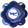 Plane 3D Wind Spinner
