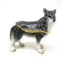 Standing Wolf Trinket Box