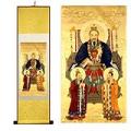 Taoism Patriarch Thangka Silk Painting