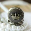 The Crown Metal Pocket Watch